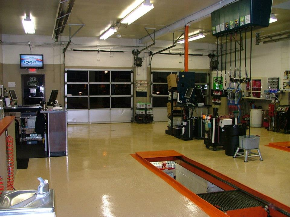 Inside Northwest oil Express